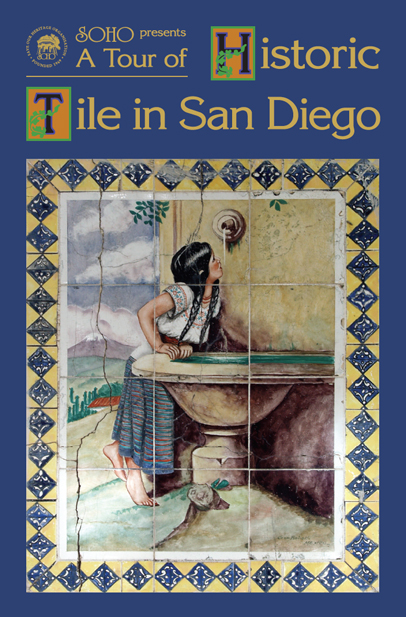 Historic Tile in San Diego tour booklet cover